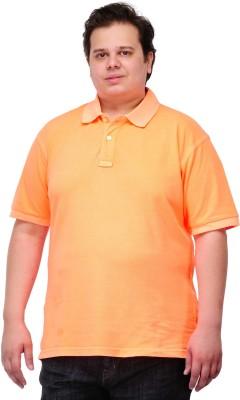 Pluss Solid Men's Polo Neck T-Shirt