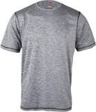 Wildcraft Woven Men's Round Neck Grey T-...