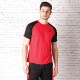 Asics Solid Men's Polo Neck Red T-Shirt