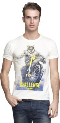 Vsquared Printed Men's Round Neck T-Shirt