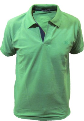 Picanzo Solid Men's Polo Neck T-Shirt
