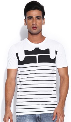 Nike Solid Men's Round Neck T-Shirt