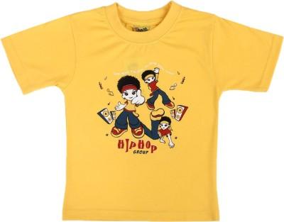 Toons Printed Baby Boy's Round Neck T-Shirt