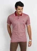 27ashwood T Shirts (Men's) - 27Ashwood Solid Men's Polo Neck Grey, Black T-Shirt
