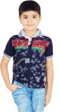Naughty Ninos Boys Printed (Dark Blue)