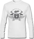 GHPC Printed Men's Round Neck White T-Sh...