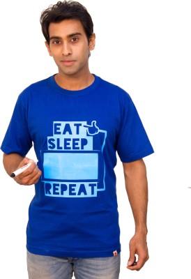 Witongo Graphic Print Men,s Round Neck T-Shirt