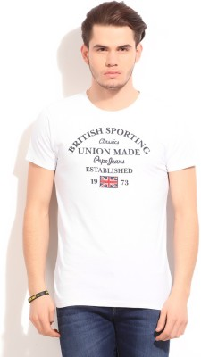 Pepe Jeans Printed Men's Round Neck T-Shirt