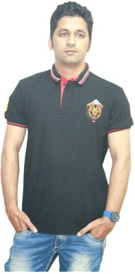 Clydesdale Solid Men's Polo Neck T-Shirt