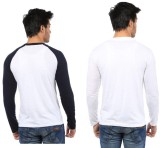 Five Stone Solid Men's Round Neck Multic...