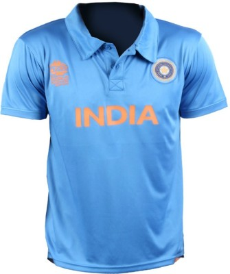 ICC WT20 Solid Men's Polo T-Shirt