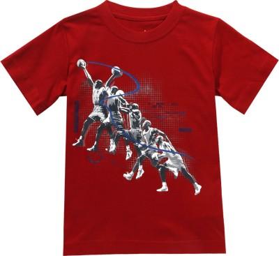 Jordan Kids Graphic Print Boy's Round Neck T-Shirt
