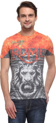 Wear Your Mind Graphic Print Men's Round Neck T-Shirt