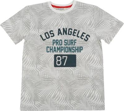Next Steps Printed Boy's Polo Neck T-Shirt
