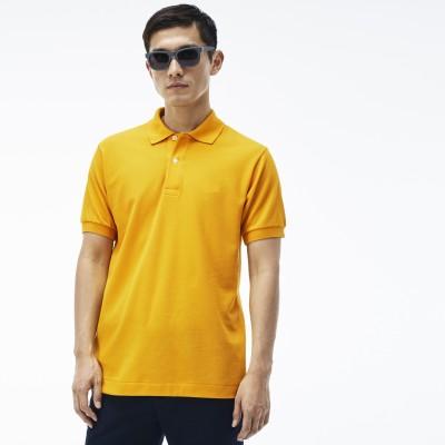 sungrace Solid Men's Polo Neck T-Shirt