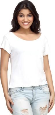 Loco En Cabeza Solid Women's Round Neck T-Shirt