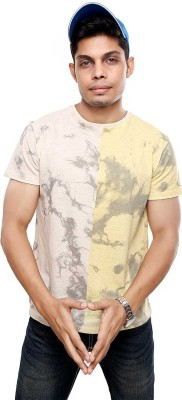 Viral Lifestyle Printed Men's Round Neck Multicolor T-Shirt