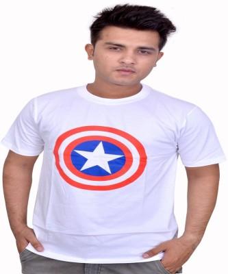 Eric Printed Men's Round Neck T-Shirt