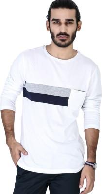 Mr Button Solid Men's Round Neck T-Shirt