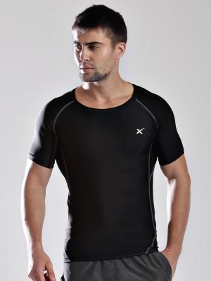 HRX Solid Men's Round Neck T-Shirt