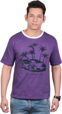 KASTURI Printed Men's Round Neck T-Shirt