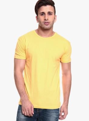 Shukrana Solid Men's Round Neck T-Shirt