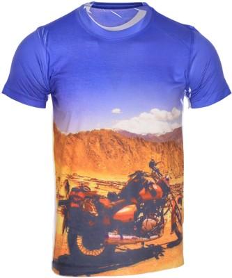 AVENSTER SPORT Graphic Print Men's Round Neck Multicolor T-Shirt