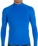Tribord Solid Men's Round Neck Blue T-Sh...