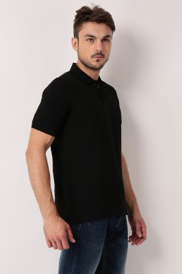 TSG Breeze Solid Men,s Polo Black T-Shirt