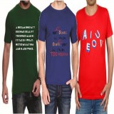 Teeswood Graphic Print Men's Round Neck ...