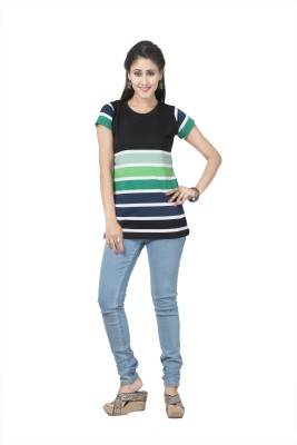 Prova Striped Women's Round Neck T-Shirt