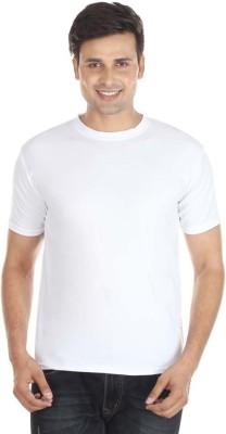 EagleBuzz Solid Men's Round Neck T-Shirt