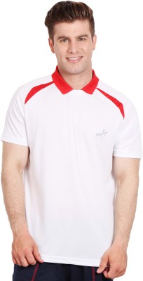 Fitz Solid Men's Polo Neck T-Shirt