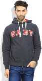 Gant Solid Men's Hooded Grey T-Shirt