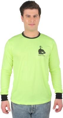 Vivekananda Youth Connect Printed Men's Round Neck Green T-Shirt