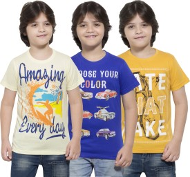 Maniac Boys Printed(Multicolor, Pack of 3)