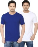Ben Carter Solid Men's Round Neck White,...