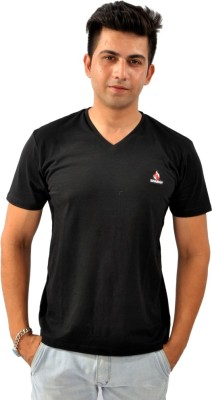 Sparkk Solid Men's V-neck T-Shirt