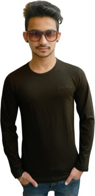 Aditri Collectios Solid Men's Round Neck T-Shirt