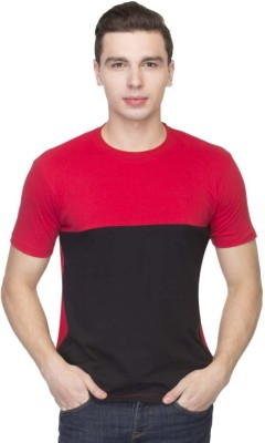 Martech Solid Men's Round Neck Red T-Shirt