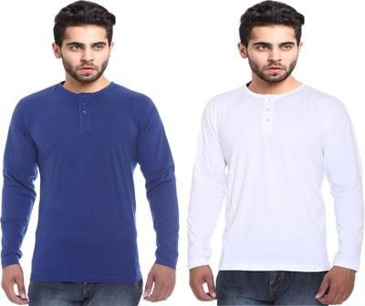X-Cross Solid Men's Round Neck T-Shirt
