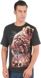 Ambadnya Fashion Printed Men's Round Nec...