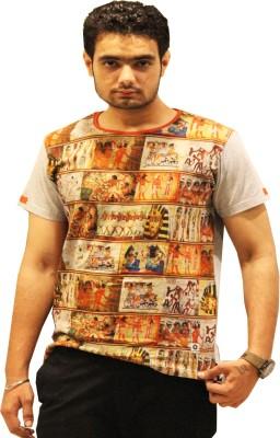 GOPAL EMPORIUM Printed Men's Round Neck Multicolor T-Shirt