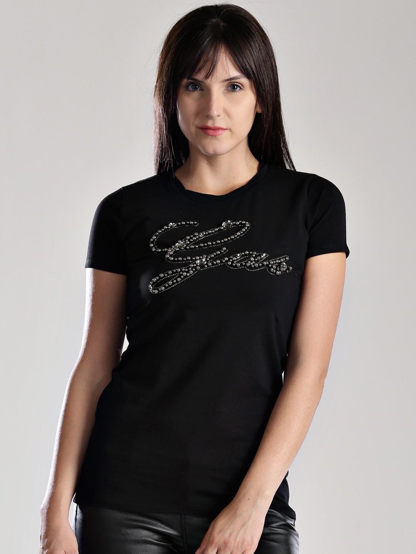 GAS Embellished Womens Round Neck T-Shirt