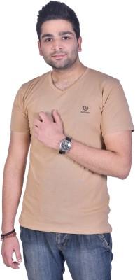 Colors and Blends Solid Men's V-neck T-Shirt
