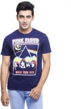 Pink Floyd Printed Men's Round Neck Blue...