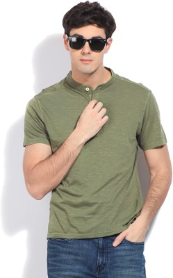 Riot Jeans Solid Men's Henley T-Shirt
