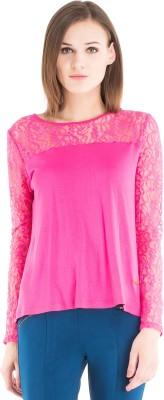 Kazo Embellished Women,s Round Neck T-Shirt