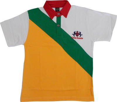 Plipsh Solid Boy's Polo Neck T-Shirt