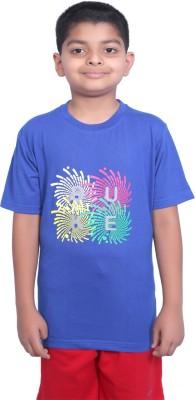 Duke Printed Boy's Round Neck T-Shirt